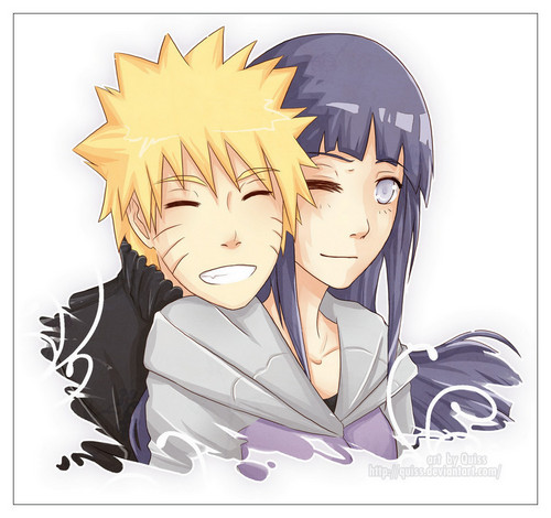 NaruHina 壁纸 with 日本动漫 called 火影忍者 and Hinata