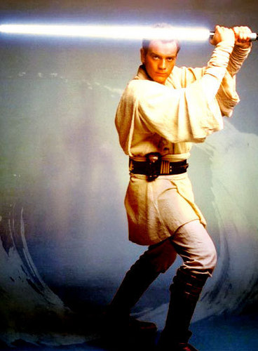 Ewan McGregor kertas dinding probably with a navy meterai and a hip boot titled Obi-Wan