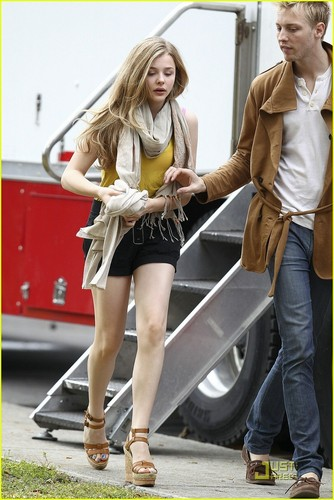 "On the set of ""Hick"" (April 4th, 2011)"