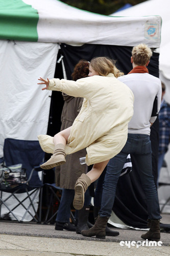 """On the set of """"Hick"""" (April 4th, 2011)"""