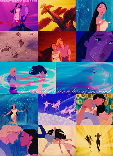 Pocahontas: colores of the Wind