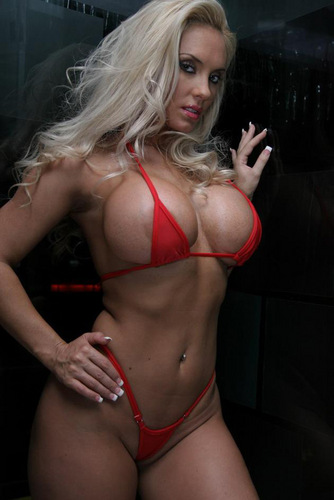 Red Bikini - nicole-coco-austin Photo