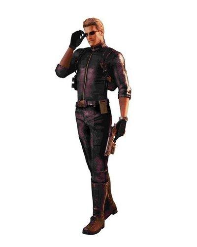 Resident Evil: The Mercenaries 3D Character Art