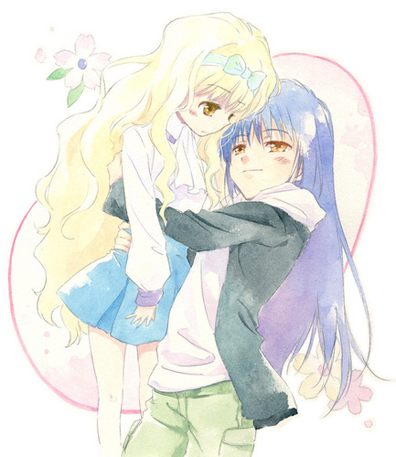 Rima and Nagihiko