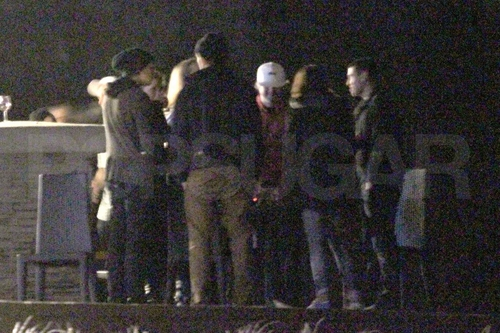 Rob & Kristen at BD लपेटें Party / Kristen's 21st Birthday