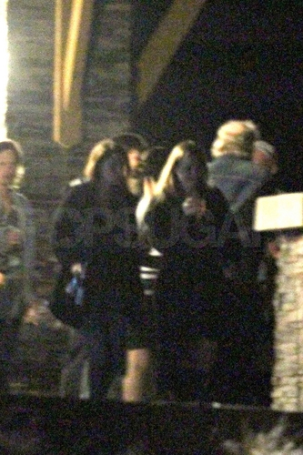 Rob & Kristen at BD 덮개, 랩 Party / Kristen's 21st Birthday