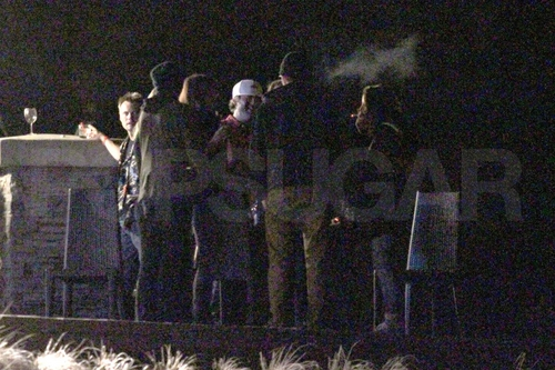 Rob & Kristen at BD wickeln, wickeln sie Party / Kristen's 21st Birthday