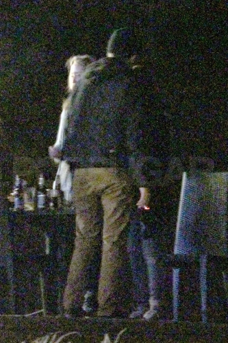 Rob & Kristen at BD ラップ Party / Kristen's 21st Birthday