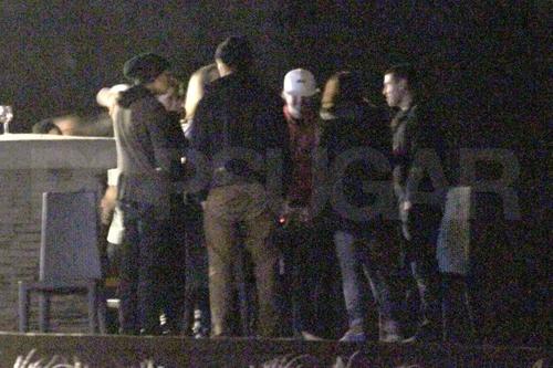 Rob & Twilight Cast At Breaking Dawn Warp Party
