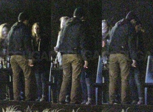 Robsten KISSING at Kristen's Bday