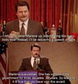 Ron and his speech