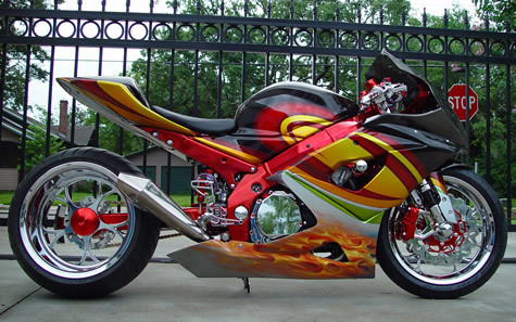 SUZUKI GSX R 1000 TUNING