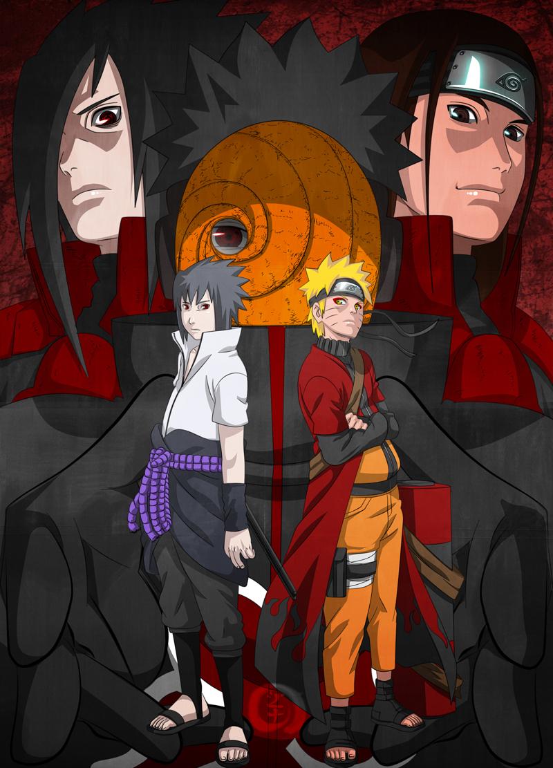 Naruto shippuuden images sasuke vs naruto wallpaper photos 20978632 - Image naruto sasuke ...