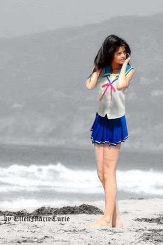 Selena Gomez Mahora uniform cosplay