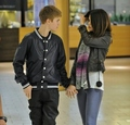 Selena & Justin - justin-bieber-and-selena-gomez fan art