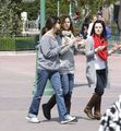 Selena spent time with family in DisneyLand on the 10th of April