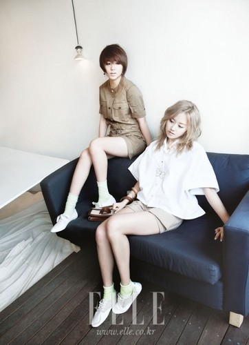 Sohyun & Gayoon For Elle