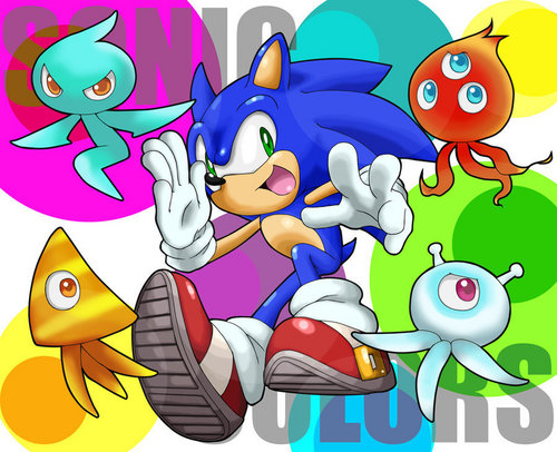 Sonic's new friends!!!!!!!!