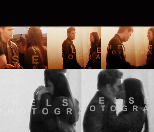 Stefan & Elena wallpaper entitled Stelena - Last episodes of The Vampire Diaries.