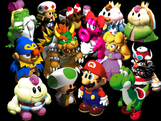 Super Mario Bros. wallpaper called Super Mario RPG Gang