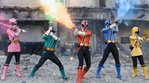 The Power Rangers Samurai
