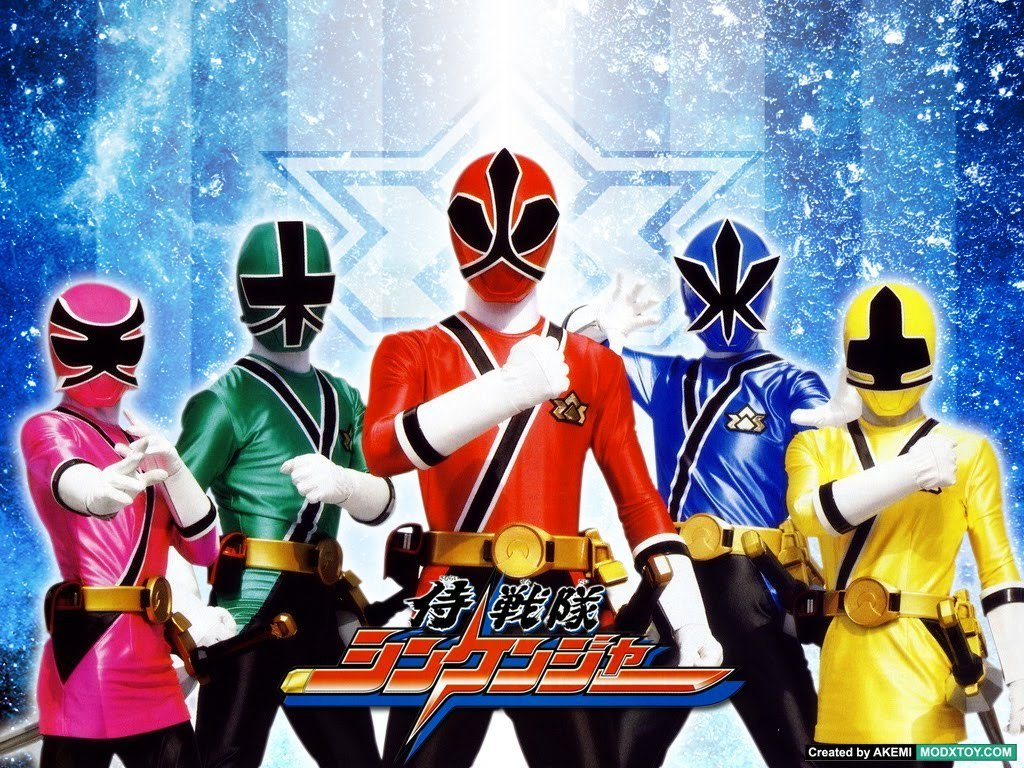 power rangers samuai