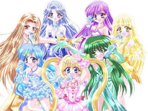 The first season mermaids!
