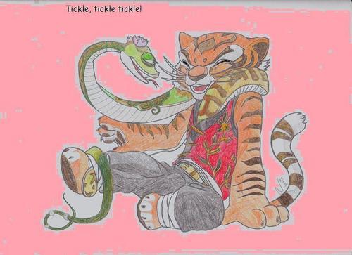 tigerin and viper BFF's