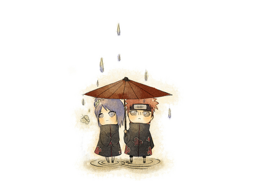 Tiny Pain and Konan