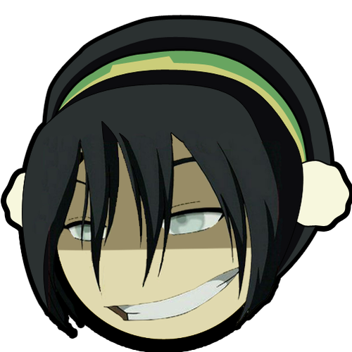 Toph's Awesome face