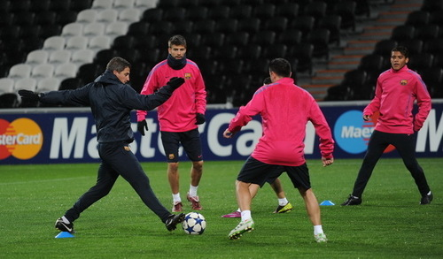 Training session 11\4 in Donetsk