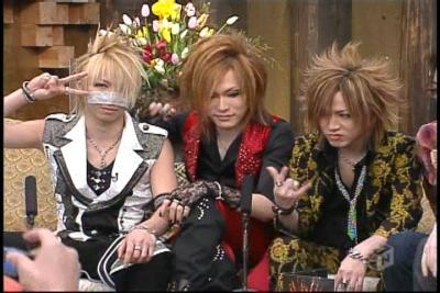 Uruha, Ruki and Reita