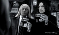Wizard's Secret Service - severus-and-lucius-beneath-the-masks fan art