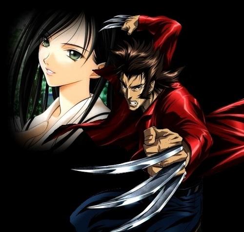 Wolverine and Becca Irwin