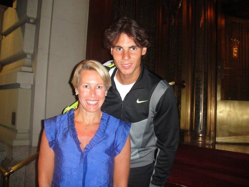 You add bumping into Rafa Nadal at 1am as he's returning to your hotel.