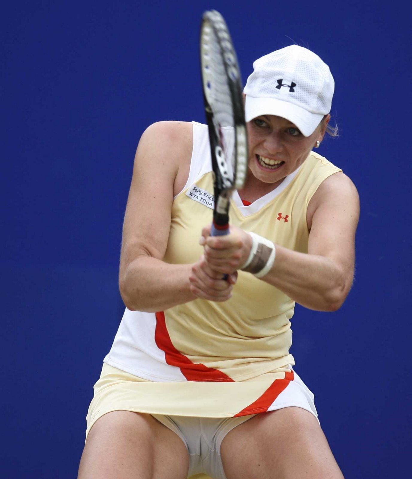 Tennis Zvonareva crotch