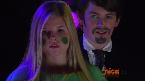 amber and fabian in there costumes