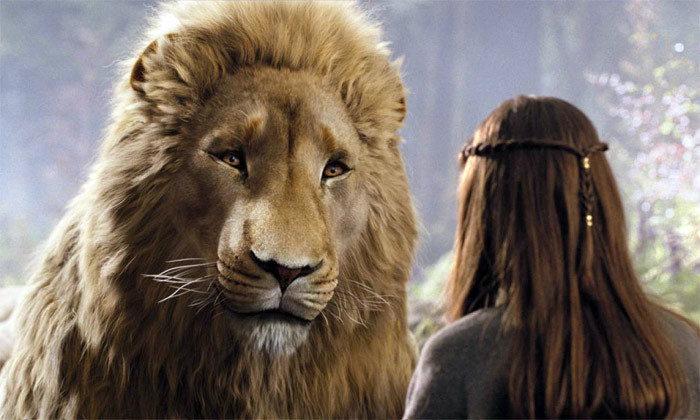 the voyage of the dawn treader images aslan and lucy wallpaper and