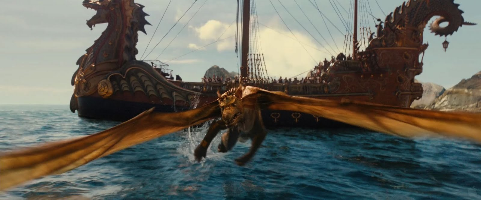the voyage of the dawn treader images dawn treader and dragon hd