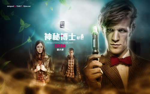doctor who fondo de pantalla for the 6th season~new adventure