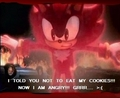 dont eat my cookies - shadow-the-hedgehog photo