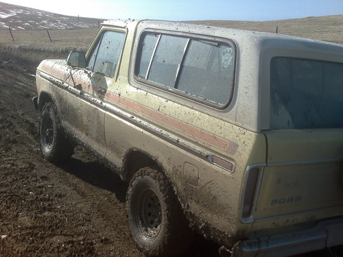 me and Kate went mudding!