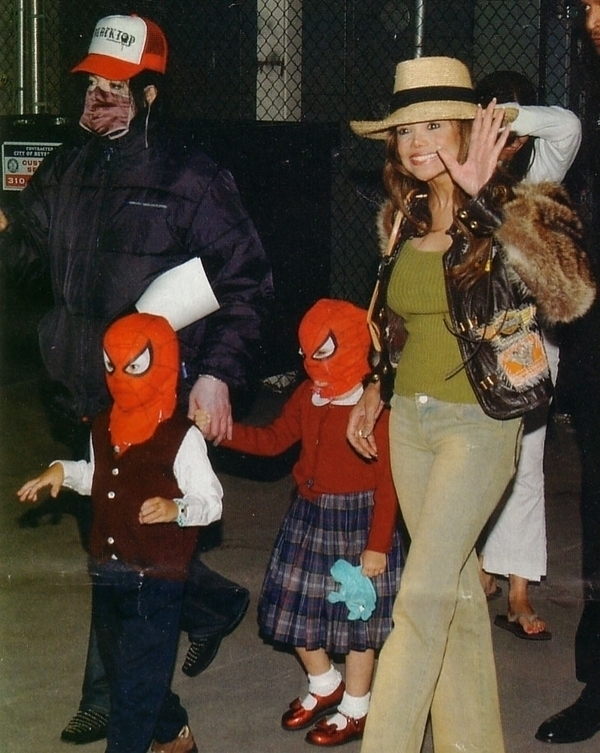 michael with prince+paris,queen_gina