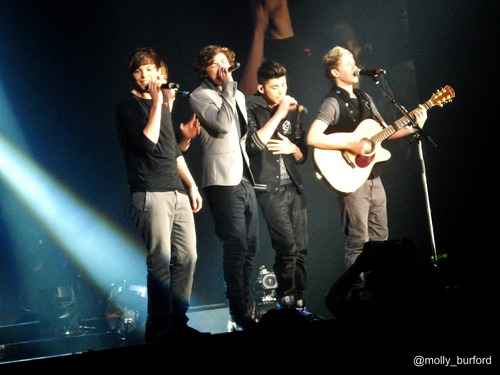 one direction at cardiff on 7/4/11