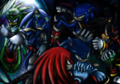 shadow and friends - shadow-the-hedgehog photo