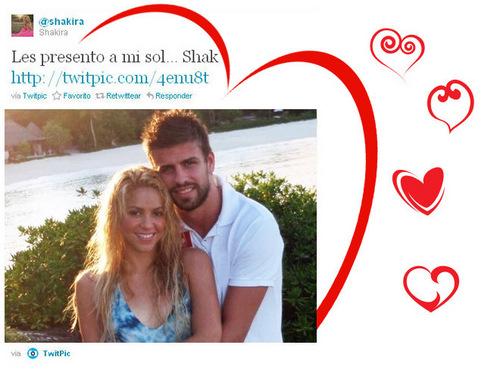 夏奇拉 pique twitter
