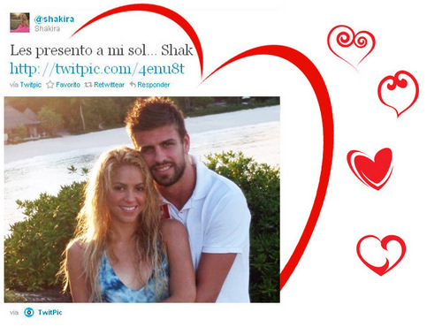 Shakira pique twitter