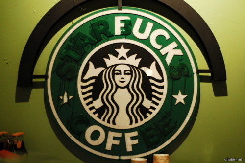 welcome to Starbucks now gtfo