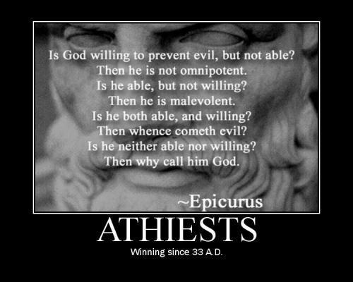 Atheism wallpaper called xD