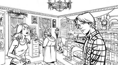 """City of Bones"" Graphic Novel"